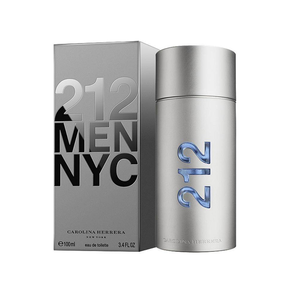 Туалетная вода Carolina Herrera 212 Men Nyc 50ml фото