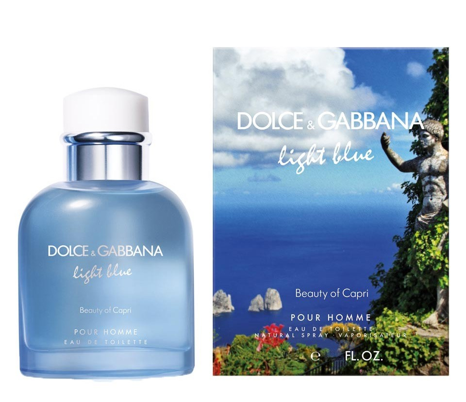 DOLCE & GABBANA LIGHT BLUE BEAUTY OF CAPRI POURE HOMME
