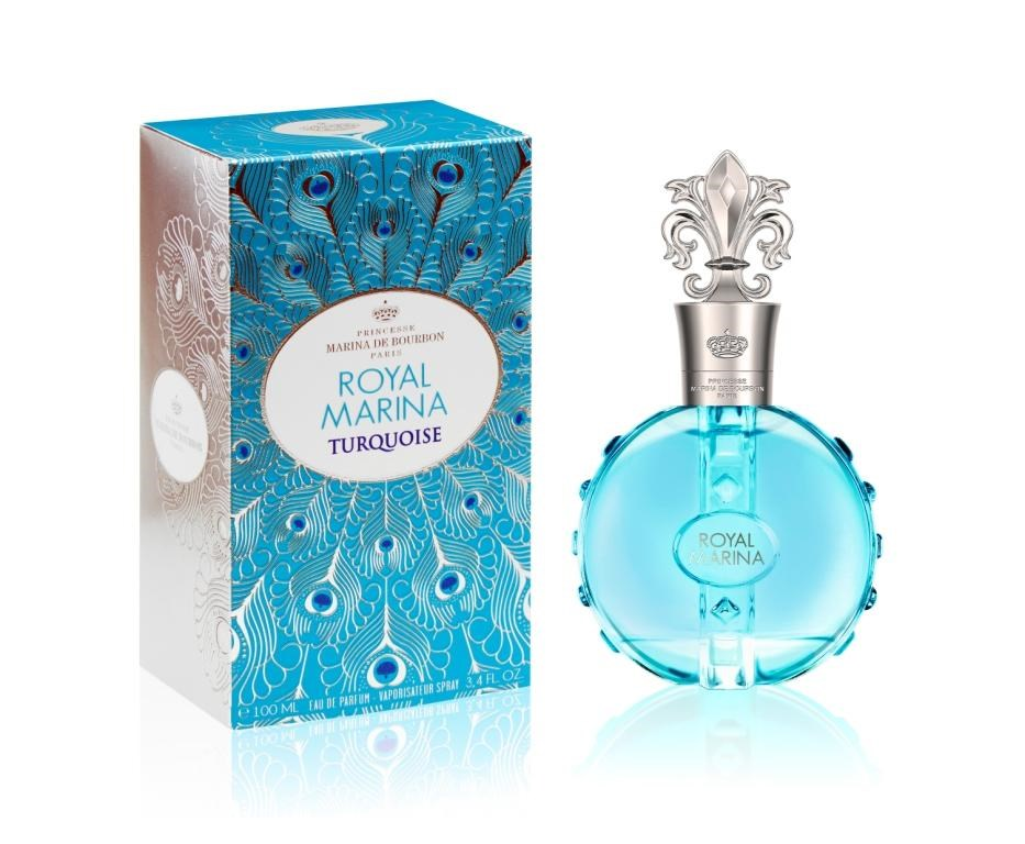 Парфюмерная вода Princesse Marina De Bourbon Royal Marina Turquoise 100ml тестер фото