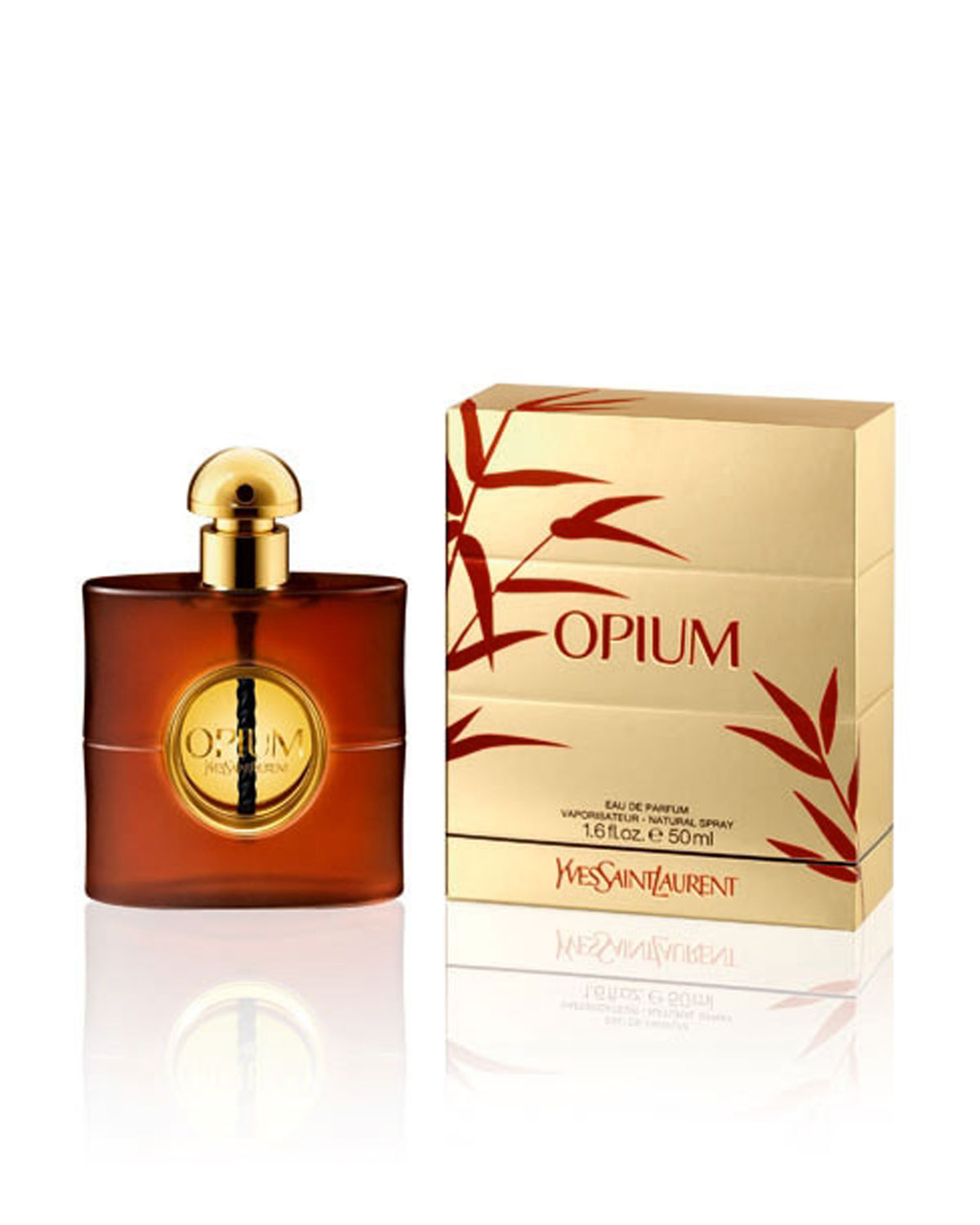 Парфюмерная вода Yves Saint Laurent Opium Eau De Parfum 50ml фото