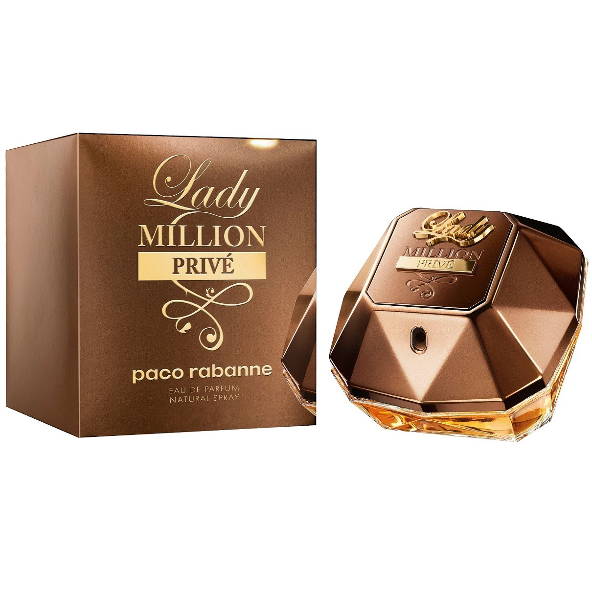 Парфюмерная вода Paco Rabanne Lady Million Prive 80ml тестер фото