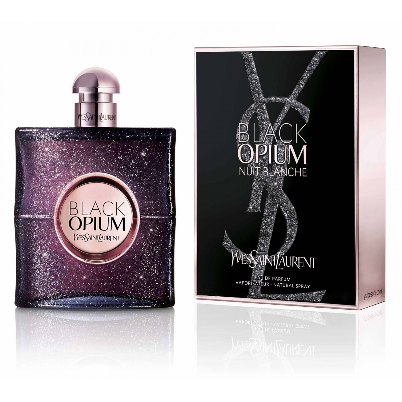 Парфюмерная вода Yves Saint Laurent Opium Black Nuit Blanche 30ml фото