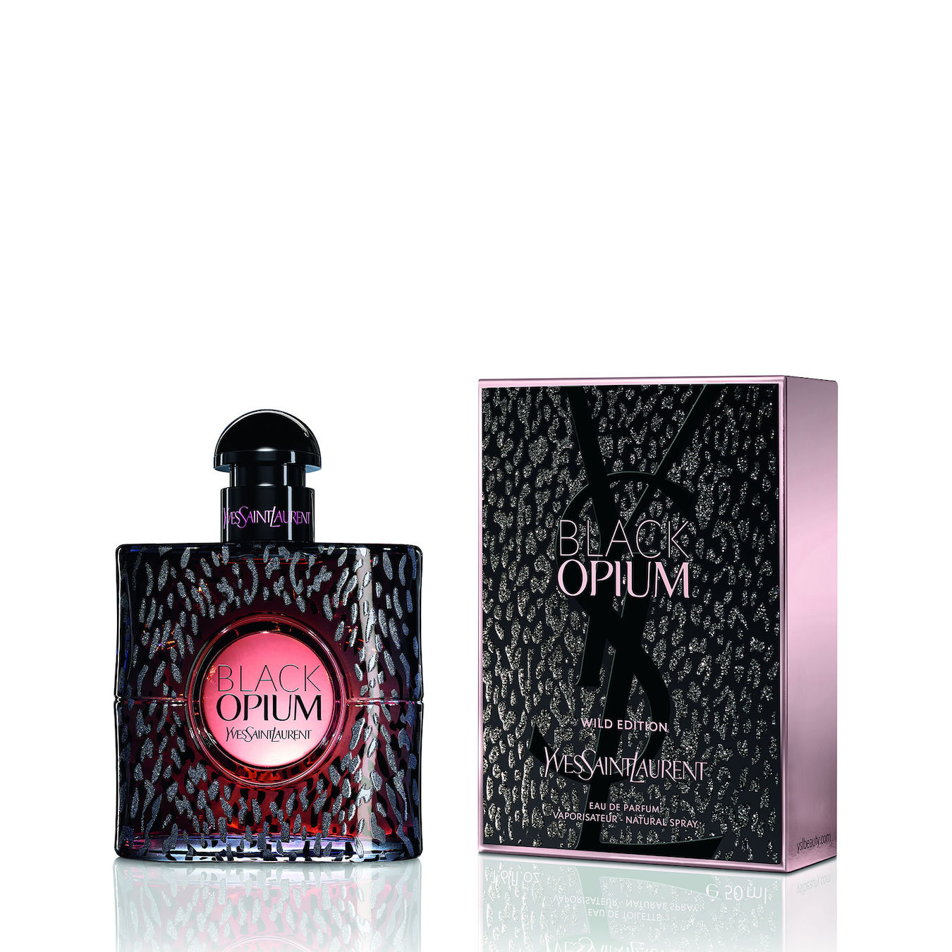 Купить Парфюмерная вода Yves Saint Laurent, Yves Saint Laurent Opium Black Wild Edition 50ml, Франция
