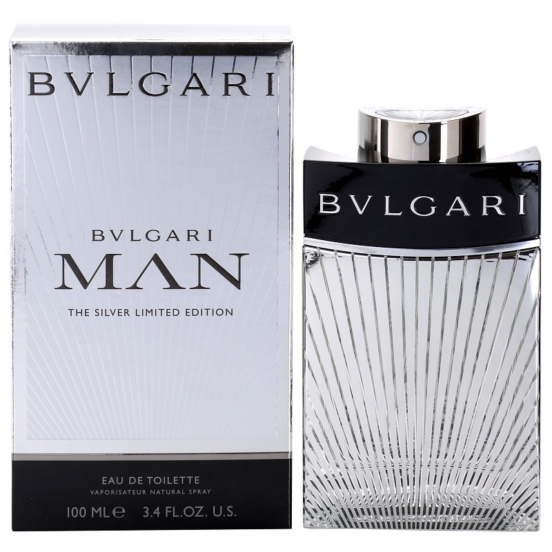 Туалетная вода Bvlgari Man The Silver Limited Edition 100ml фото