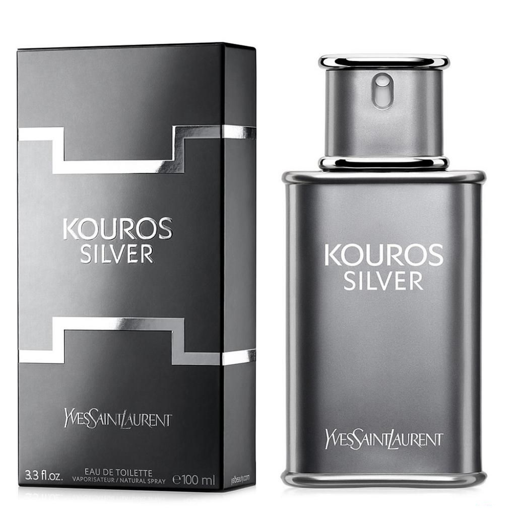 Туалетная вода Yves Saint Laurent Kouros Silver 100ml фото