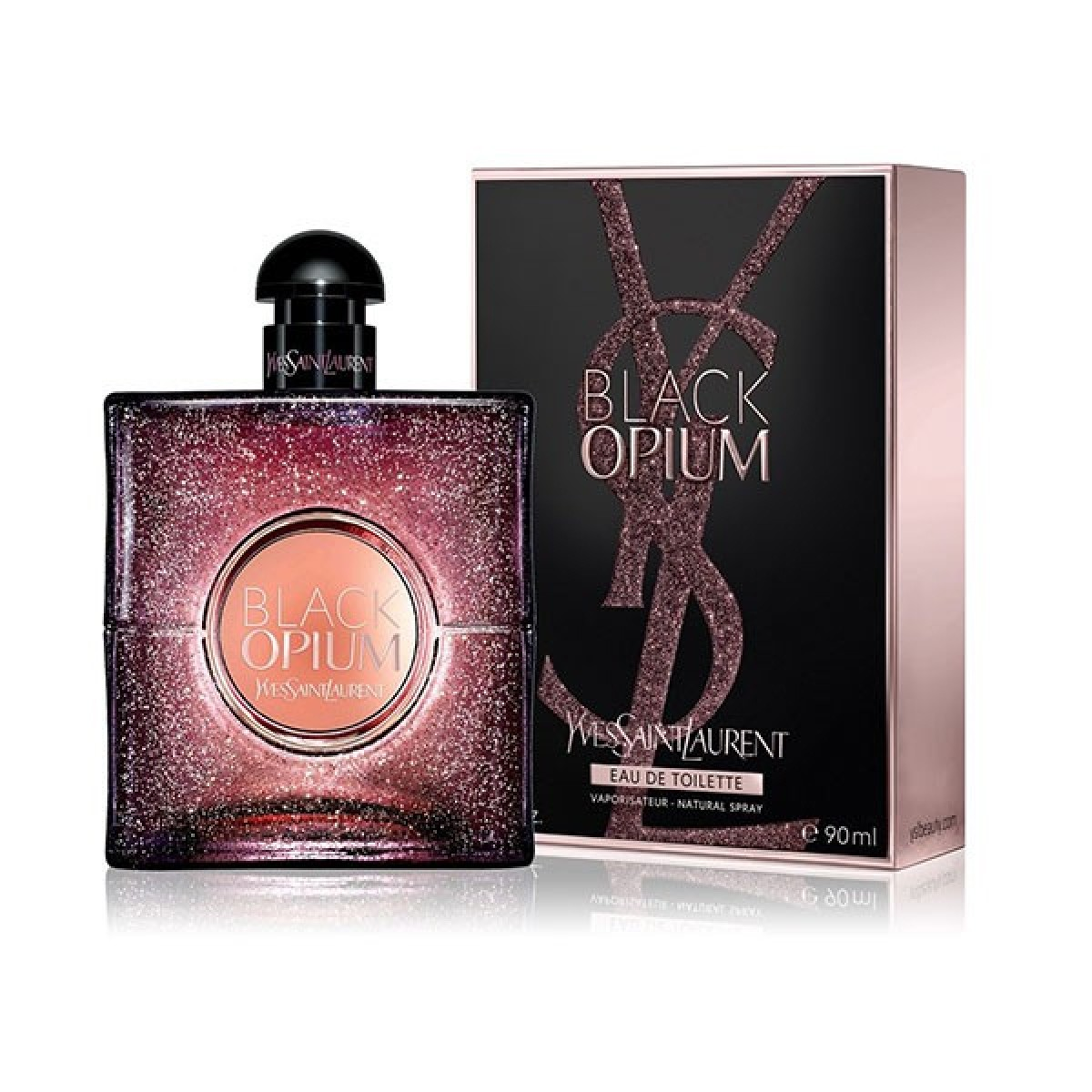 Туалетная вода Yves Saint Laurent Black Opium Eau De Toilette 90ml фото