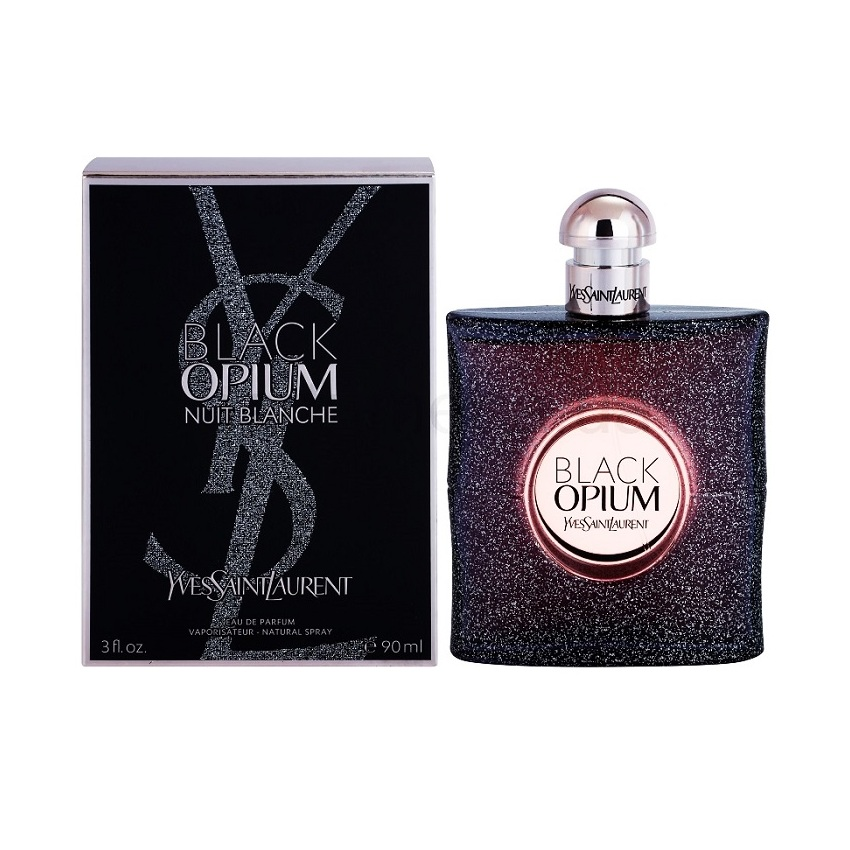 Купить Парфюмерная вода Yves Saint Laurent, Yves Saint Laurent Opium Black Nuit Blanche 90ml, Франция