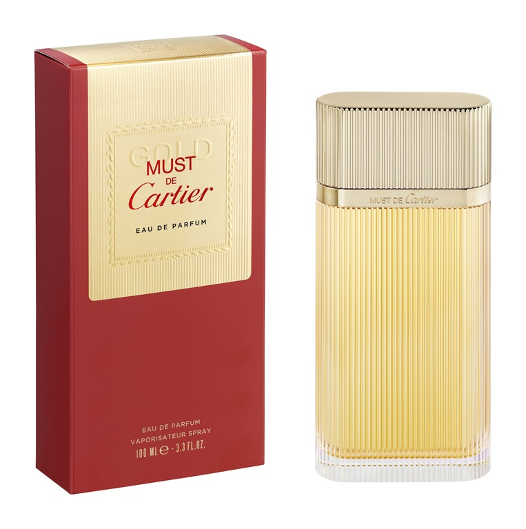 Парфюмерная вода Cartier Must De Cartier Gold 100ml фото