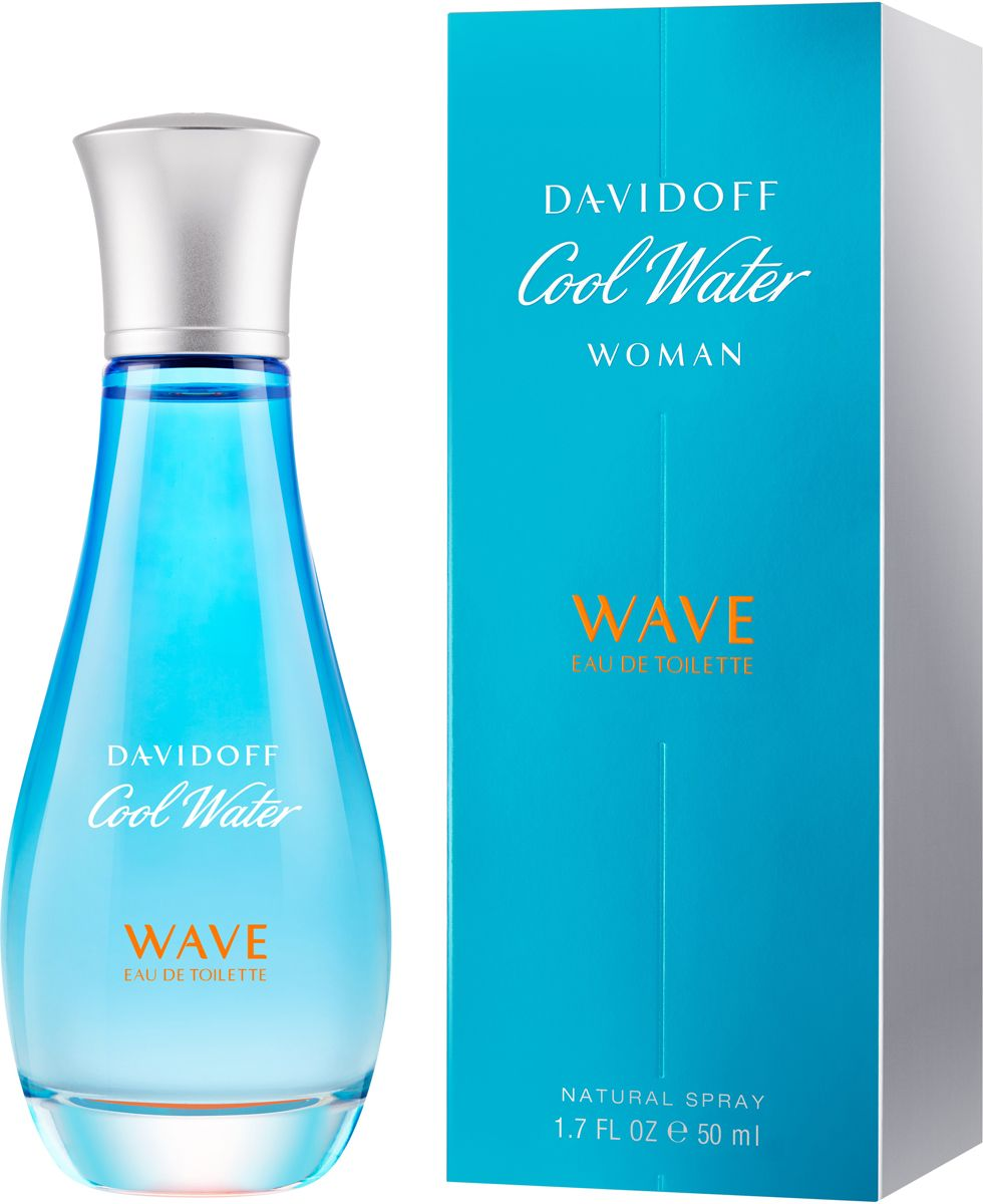 Туалетная вода Davidoff Cool Water Wave Woman 2018 100ml фото